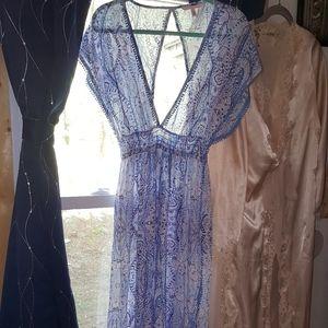 EUC Victoria Secret Maxi Cover Up dress M